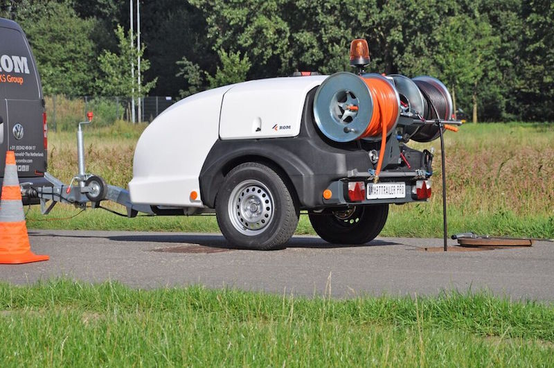Smart Trailer Pro Drain and Sewer Jetter