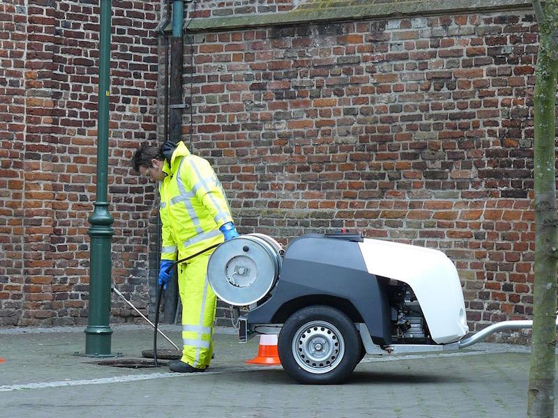 Smart Trailer Drain Jetter 750kg